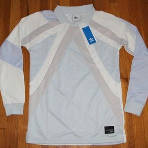 Adidas Equipment EQT 18 Long Sleeve Soccer Jersey
